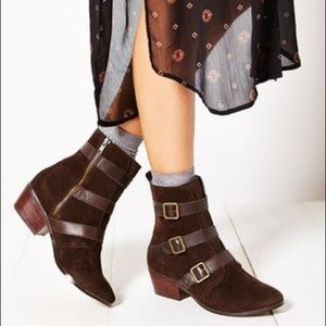 UO Kelsi Dagger Brooklyn Dana Buckle Boot